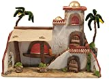 BERTONI Miniatur Arabian House, Holz, mehrfarbig, 40x 18x 28cm