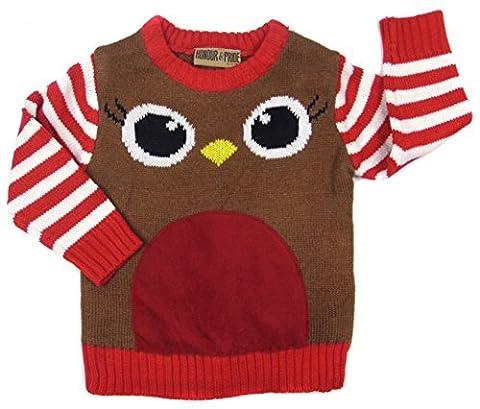 Costume Robin Rouge - Enfants Pull Noël en un fabuleux Gamme