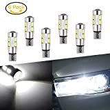 lianqi 6 BRIGHT Weiß Canbus Fehlerfrei T10 Projektor 10-smd LED Leuchtmittel mit Aluminium Kühlkörper Helle Auto Birne 194 168 147 152 158 159 161 184 192 193 2881 2825 L157