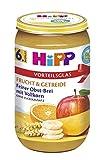 Hipp Feiner Obst-Brei mit Vollkorn, 6er Pack (6 x 250 g)