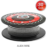 10M Vapethink Alien Clapton Wire, Alambre de Calefacción AWG(0.3x0.8mm Flat + 32GA) Resistencia Vape Coil