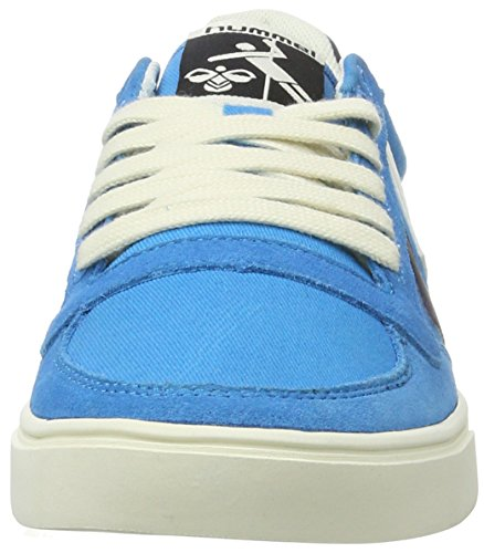Hummel Sl. Stadil Duo Canvas Low, Sneakers Basses Mixte Adulte Bleu (Danube Blue)