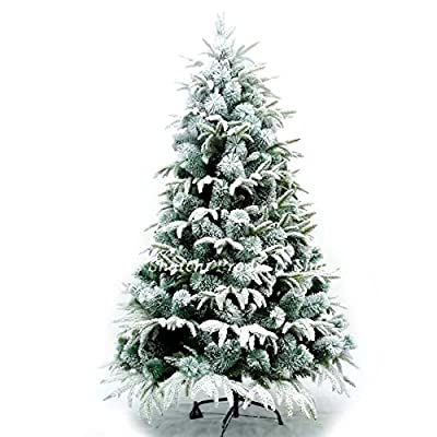 6ft Snow Dipped Artificial Christmas Tree For Indoors