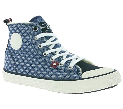 Pepe Jeans Industry Denim Girl, Baskets mode fille