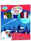 Unbekannt ALADINE 42036 - 9 Glitter-Glue Stifte Ice