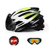 Bike Helmet, Fivanus Adult Bicycle Helmet with Magnetic...