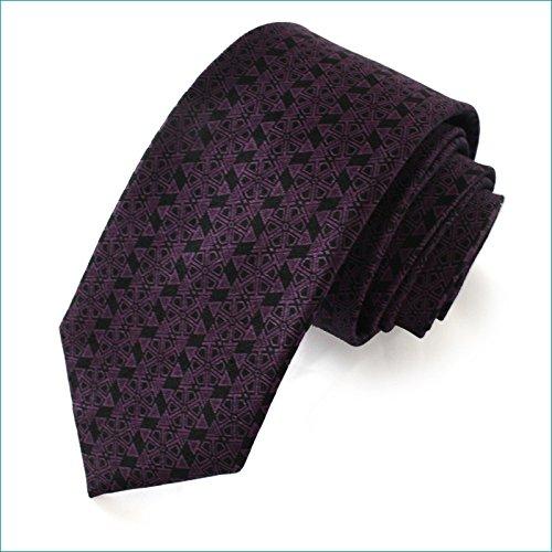 Xzwdiao Men's tie, Casual Print and Silk Fashion tie Bow Print Silk Dress