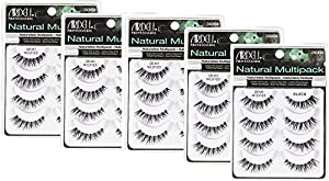 (5 Pack) ARDELL Professional Natural Multipack Demi Wispies Black