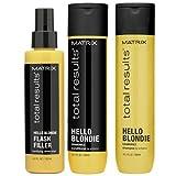 Matrix–Haarpflege-Set Hello Blondie der Serie total results für blonde Haare