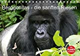 Berggorillas - die sanften Riesen (Tischkalender 2019 DIN A5 quer): Berggorillas in ihrem natürlichen Lebensraum (Geburtstagskalender, 14 Seiten ) (CALVENDO Tiere)
