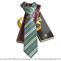 Noble Collection–Harry Potter corbata Slytherin Deluxe
