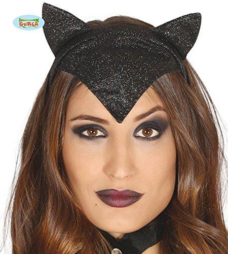 Sexy Katzen Diadem für Damen zu Halloween oder Karneval