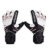 Youth&Adult Goalie Goalkeeper Gloves,Strong Grip for The Toughest - Best Reviews Guide