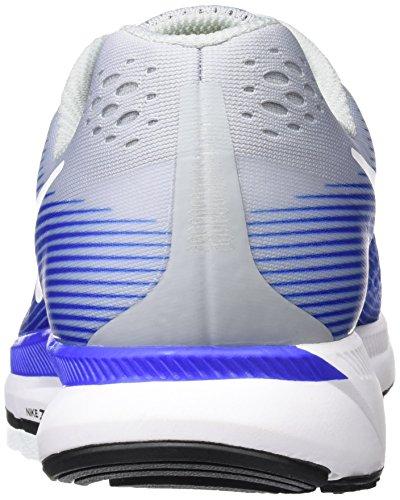 the best attitude c35ec be93a ... Nike Air Zoom Pegasus 34, Scarpe da Running Uomo Multicolore (Gris  Loupbleu ...