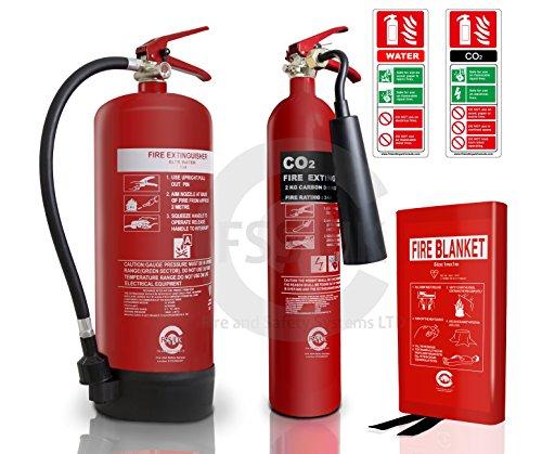 Pequeña tienda/salón pelo seguridad contra incendios