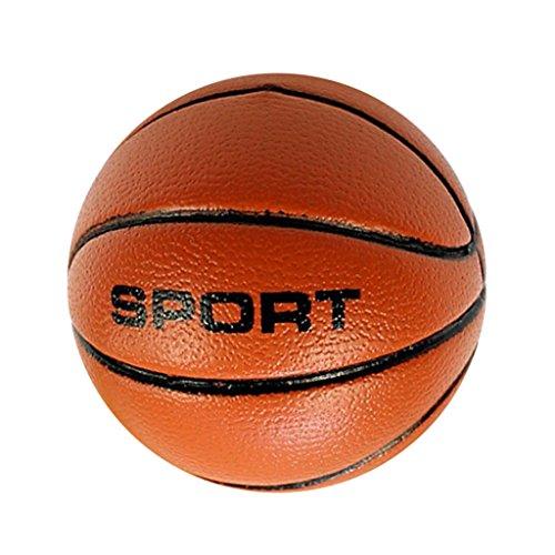 Hellery 1/6 Kunststoff Basketball Modell Spielzeug Für 12