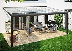 6x5 m Terrassendach /Überdachung Carport Leimholz Pergola BSH Holz Stegplatten 16mm Klar Hohlkammerplatten Luxbach GmbH Terrassen/überdachung 600x500 cm