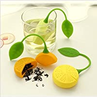 Macxy - Teesieb Silikon Erdbeere Zitronen-Entwurf Lose Teeblatt-Sieb-Beutel Kräutergewürzfilter Filter-Tools [... preisvergleich bei billige-tabletten.eu
