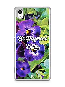 YuBingo Be Different Babe Designer Mobile Case Back Cover for Sony Xperia M4