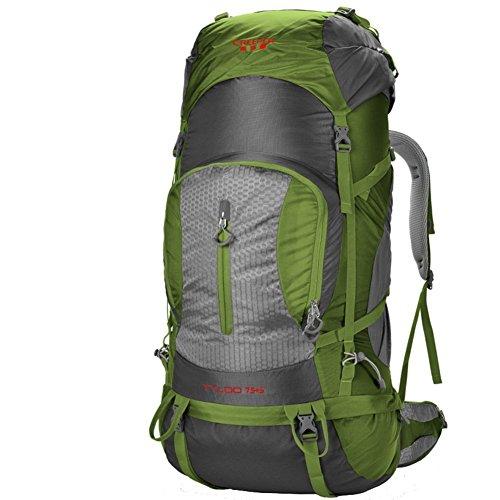 Sincere® Package / Sacs à dos / Portable / Ultraléger extérieure escalade sac / sac Voyage épaules / 80L tactique / camping en plein air randonnée à dos-ArmyGreen 80L
