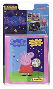 Peppa Pig - Blíster con 10 sobres de cromos (Panini 002895BLIE)