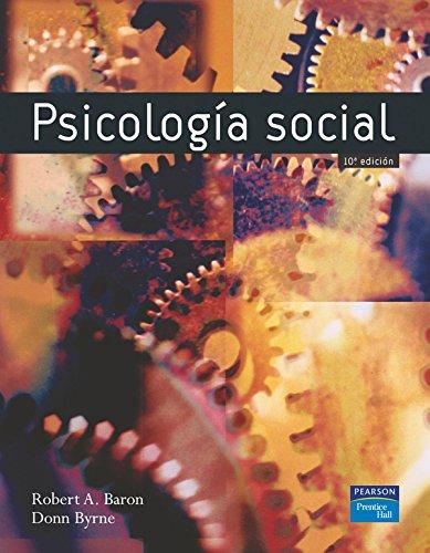 Psicología social por Robert A. Baron