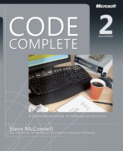 Code Complete: A Practical Handbook of Software Costruction (Dv Professional) por Steve McConnell