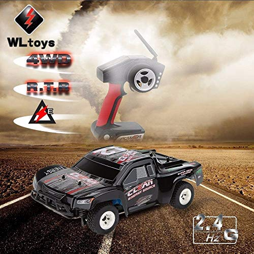 RC Auto kaufen Short Course Truck Bild 2: ZMH Fernbedienung RC Racing Car 1 24 2,4 G Elektrisch Geb rstet 4WD RTR RC Auto RC Drift Kids Toys Christmas Boys Kinder Geschenke*