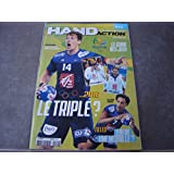 HANDACTION N°171 LE MAGAZINE N°1 DU HANDBALL LE GUIDE DES JEUX RIO 2016
