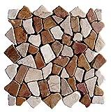 M-004 Marmor Mosaikfliesen Naturstein Bad Fliesen Lager Verkauf Stein-mosaik Herne NRW Bodenfliesen