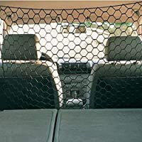 Loveinwinter Dog Protection Net Car,Car Isolation Fence, Pet Barrier, Net Trunk, Safety Net For Car, Van, SUV And Truck-Black 120cmX70cm