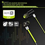 VicTsing Wireless Bluetooth 4.1 Kopfhörer Sport Stereo In-Ear Noise Cancelling Headphones Kopfhörer mit APT-X/Mic für iPhone 7, 7s, 6, 6s und Android Phones - 3