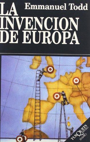 La invención de Europa (Ensayo)