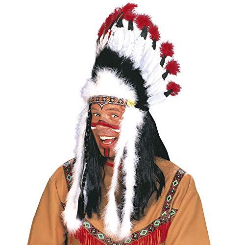 Widmann 3305B - Indianerhaarschmuck Wilder - Kostüm Für Indianer