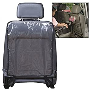 Malloom® Car Seat Back Protector Cover For Children Kick Mat Mud Clean (Black)