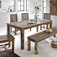 Amazon.es: mesas rusticas comedor - Madera / Mesas / Comedor: Hogar ...