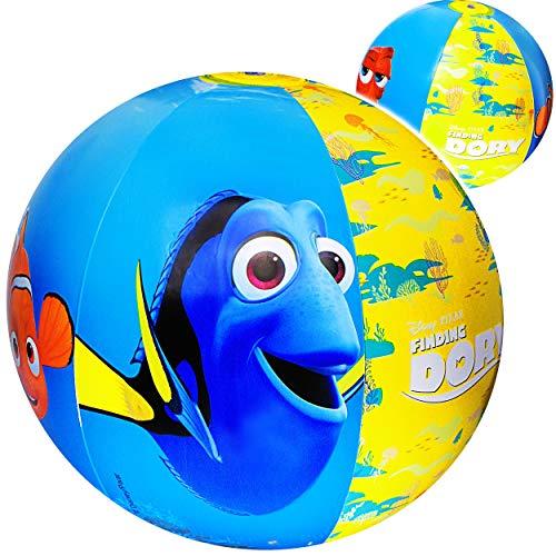 alles-meine.de GmbH 2 Stück _ Strandbälle / Bälle aufblasbar -  Disney Findet Nemo  - Ø 50 cm - Wasserball - aufblasbarer großer Ball / Beachball - Kinder - Baby - Spielball Au.. (Nemo Findet Baby)