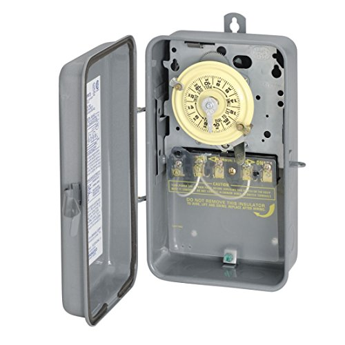 Price comparison product image Intermatic T104R 208-277-Volt DPST 24 Hour Mechanical Time Switch with Outdoor Case
