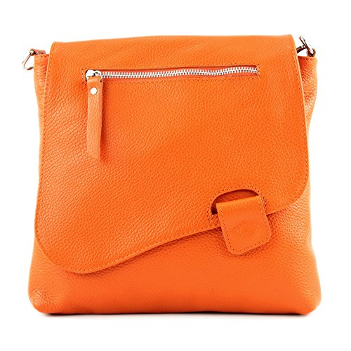modamoda de -. cuoio ital Borsa da donna Messenger bag borsa a tracolla in pelle borsa NT07 2in1 Orange La Mejor Venta Precio Barato El Envío Libre Para Agradable Precio Barato Originales d1KFimO