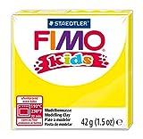 Staedtler 8030-1 Fimo Kids Normalblock, 42 g, gelb