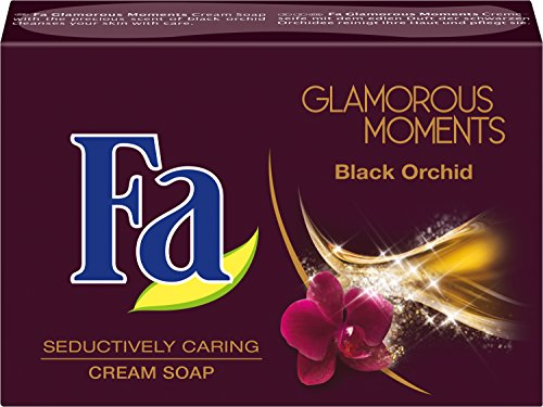 Fa Glamorous Moments Festseife, Black Orchid, 6er Pack (6 x 100 g)