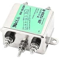 JR-1220-R 20A de corriente alterna de la línea eléctrica de 115 V CA EMI Filtro 250V