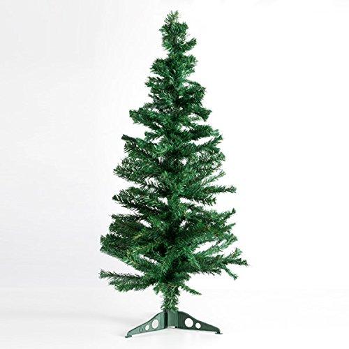 Arbol de navidad clásico, artificial tipo pino. Arbol navidad montado de 120cm. Arbol navideño artificial color verde natual.