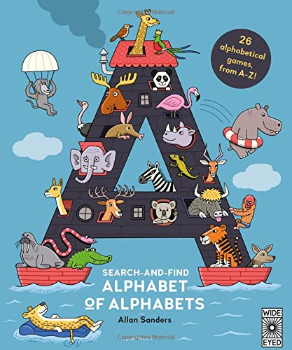 Search and Find Alphabet of Alphabets -