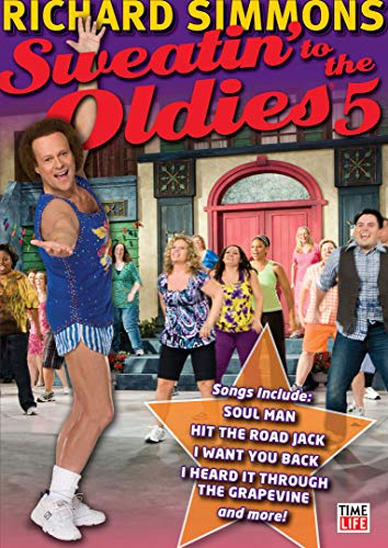 Sweatin to the Oldies 5 [DVD] (2010) Simmons, Richard (japan import) - Sweatin Richard Simmons