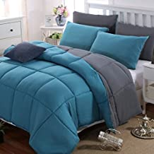 Amazon Fr Couette 220x240 Bleu