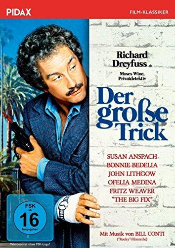 Der große Trick (The Big Fix) / Kult-Krimikomödie mit Richard Dreyfuss als Privatdetektiv Moses Wine (Pidax Film-Klassiker)
