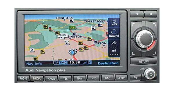 Rns E 2017 2018 Navigation Plus Navi Karte Dvd Uk Elektronik