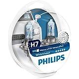 Philips WhiteVision 12972WHVSM   - Bombilla Para Faros Delanteros (Efecto Xenon H7), 3700 K, Pack 2 Unidades