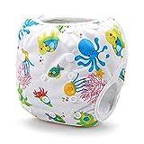 Swim Pañales reutilizables y ajustable para bebés de 0a 12meses y bebés hasta 3años por ecológico Terra Baby
